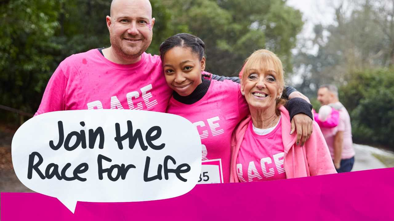 6711de437fb This year, for the first time, Cancer Research UK is inviting everyone in  the area – women, men and children – to join the Race for Life. We're  urging mums, ...