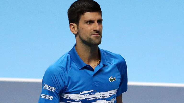 Djokovic allays elbow injury concerns