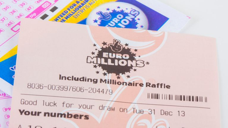 UK ticket holder wins £105m EuroMillions jackpot
