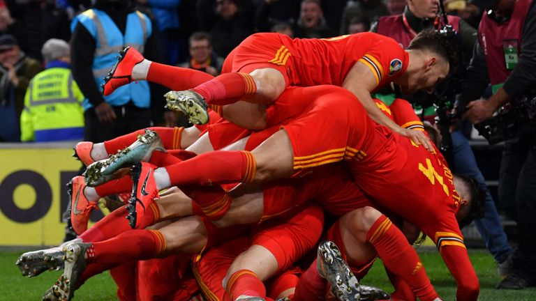 Wales reach Euro 2020 finals after beating Hungary